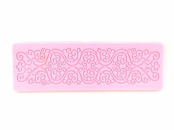 Силіконовий килимок для гнучкого айсинга Морозний візерунок, фото 2