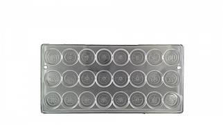 Форма для цукерок полікарбонатна Медальйони