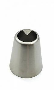 Насадка кондитерська метал. безшовна Листочок 15