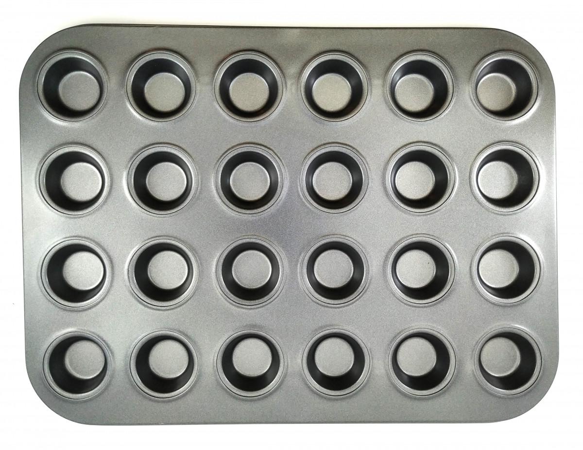 Форма для выпечки мини десертов на 24 шт d = 2,5 см