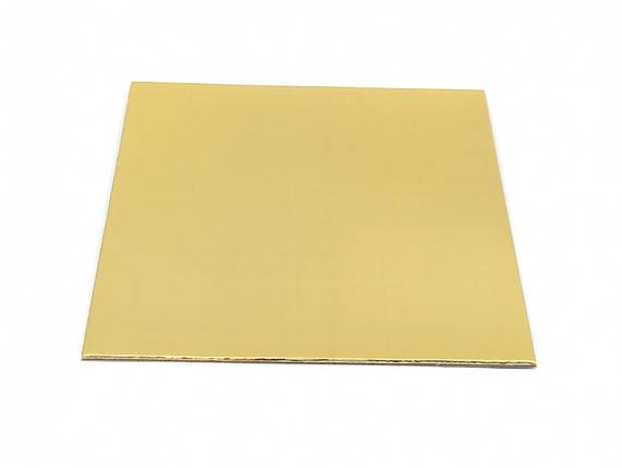Подложка прямоугольная 10*10 см ( 10 шт), фото 2