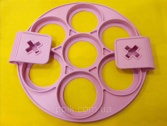 Форма силіконова для оладок і сирників, фото 2