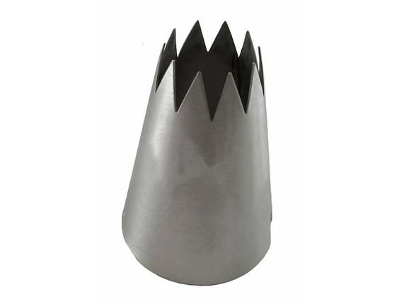 Насадка кондитерская метал.открытая звезда №366 1шт, фото 2