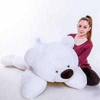 Мягкая игрушка - Медведь лежачий Умка белый