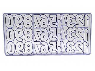 Полікарбонатна форма для цукерок Цифри