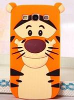 """Силиконовый чехол """"Тигр"""" на Samsung S3"""