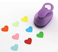 Фигурный дырокол (компостер) Сердце 3.8 см