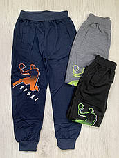Спортивные брюки на мальчиков оптом, Taurus, 98-128 рр, фото 3