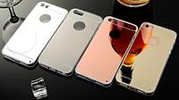 Зеркальные силиконовые чехлы iphone 5/5S