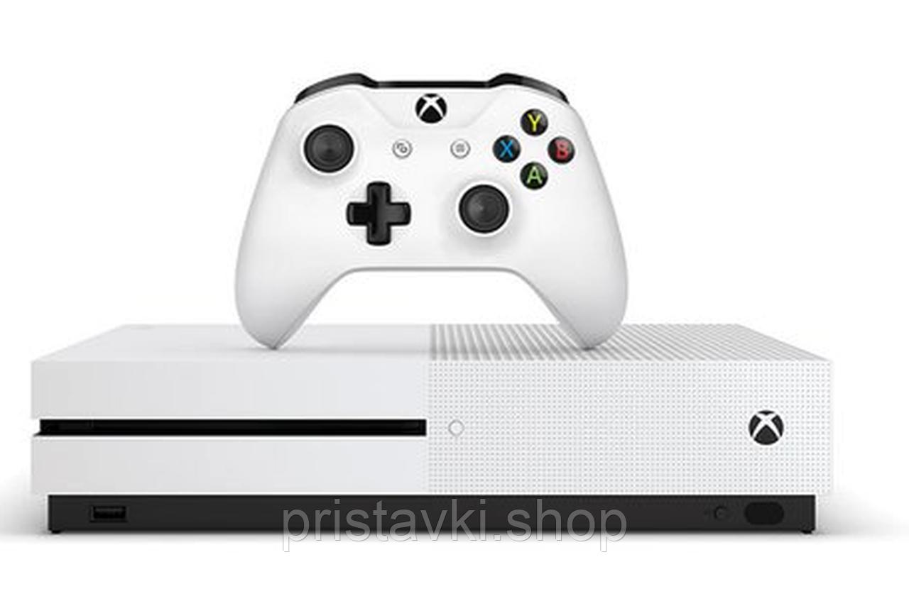 XBOX ONE S 1TB + 2 игры + вертикальная подставка