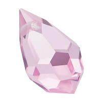 Кришталеві підвіски 681 Preciosa (Чехія) 6х10 мм Pink Sapphire