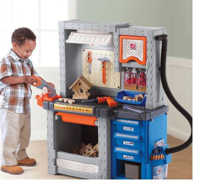 Мастерская Маленький столяр игрушечная Step2  7060