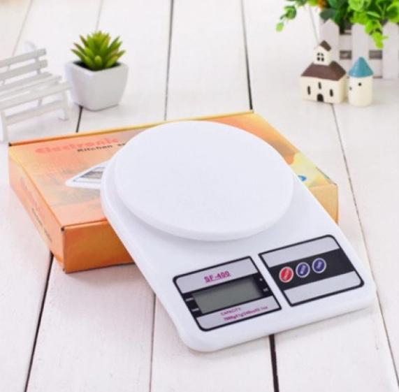 Мини весы кухонные электронные до 7 кг платформа настольные DOMOTEC с функцией автовыключением SF-400 (374)