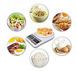Мини весы кухонные электронные до 7 кг платформа настольные DOMOTEC с функцией автовыключением SF-400 (374), фото 3