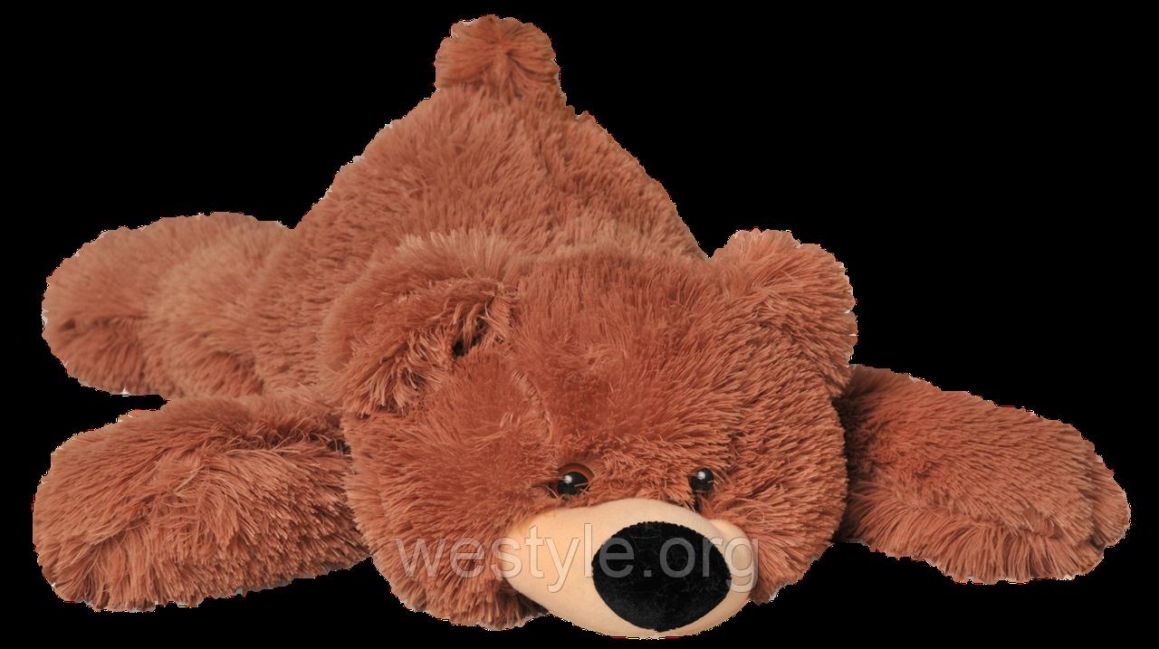Мягкая игрушка - Медведь лежачий Умка коричневый