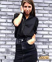 Сорочка 420 жіноча стильна класична Rdv768