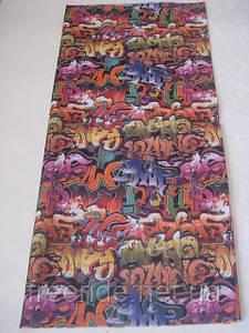 Бандана, бафф, buff, бесшовный шарф, повязка (#12)