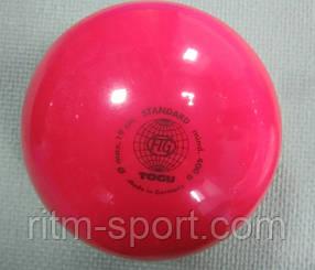 Мяч для художественной гимнастики розовый T0GU (400 г)