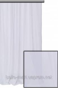 Тюль вуаль шифон №1 (белая)