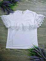 Шкільна блуза для дівчинки підлітка Арфа зріст 128-146 см