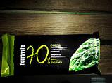 Горький классический шоколад с мятным пралине Terravita Cocoa Mietowa 70% какао, 100 гр., фото 5