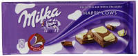 Шоколад молочный Milka Happy Cow (милка молочный/белый шоколад), 100 гр