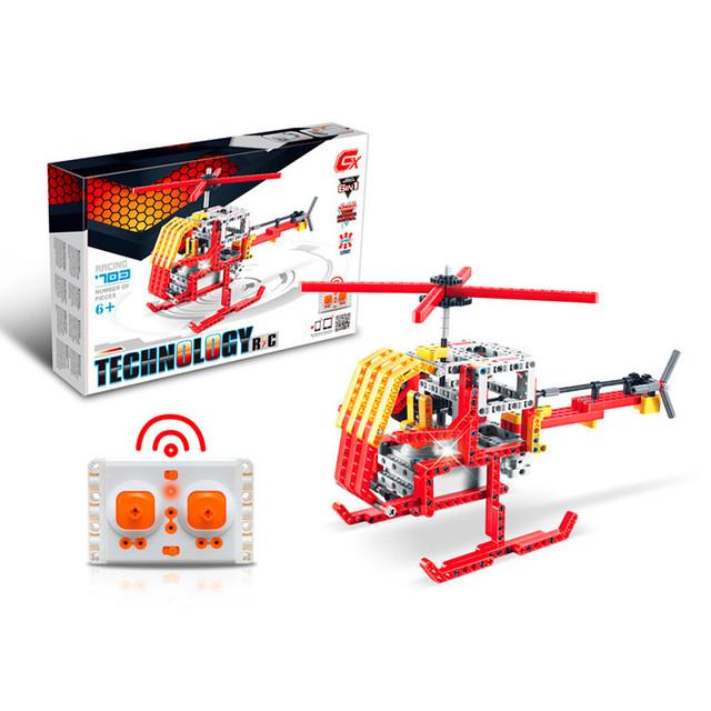 Мега детский конструктор на радиоуправление 6 в 1 (703 блоков совместимы с Lego)