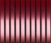 Реечные алюминиевые зеркальные потолки: медь с черной вставкой