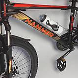 Горный алюминиевый подростковый велосипед с амортизацией S300 BLAST Диаметр колёс 24 Рама 13 Япония Shimano, фото 2