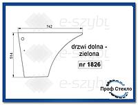Стекло экскаватор-погрузчик Case 580ST 590ST 695ST 590SR 695SR -дверь Нижняя
