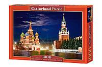 """Пазлы Castorland """"Красная площадь, Москва"""" - 1000 элементов."""