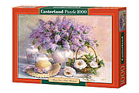 """Пазлы Castorland """"Цветочный день. Сирень."""" - 1000 элементов."""