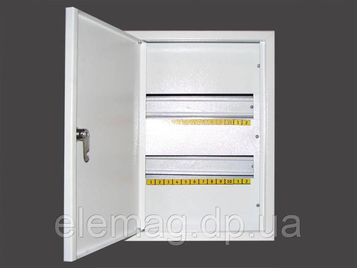 Щиток металлический на 24 автоматов накладной - интернет-магазин  Elemag электроника        График работы: с 08:30 до 17:00 Вс: выходной в Днепре