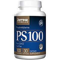 Фосфатидилсерин, Jarrow Formulas, 100мг, 30 гелевых капсул