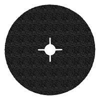 3M 60511 501С - Фибровые шлифовальные круги, цирконат алюминия, 125Х22мм, P36