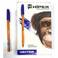 Ручка масляна Hiper Vector HO-600 синя 50/2000шт/ уп ш.к.8904128401683