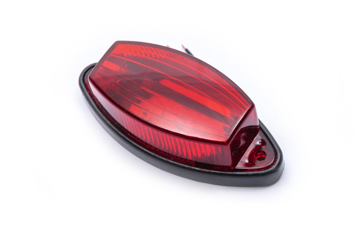 Фонарь 6-ти диодный красный 0076