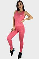 Костюм спортивный женский розовый р.44 SKL92-322411