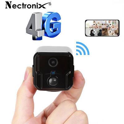 4G мини камера видеонаблюдения Nectronix T9, Full HD 1080P, датчик движения, аккумулятор 2600 мАч