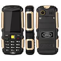 Противоударный мобильный телефон Land Rover M12 3 sim ленд ровер м12 на 3 сим карты