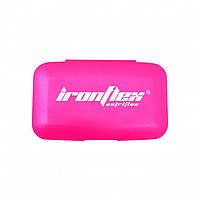 Таблетницы IronFlex Pill Box Розовая