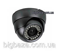 800TVL. ИК купольная видеокамера  цветная LUX42SSM