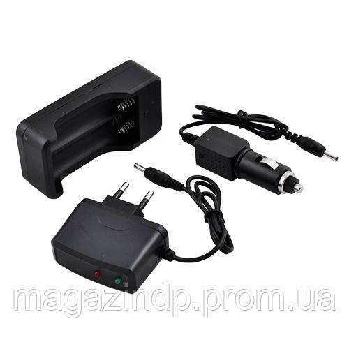 Комплект зарядок 220В и 12В для аккумуляторов 18650 Код:57053918