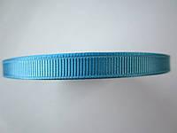 Лента репсовая для бантиков, заколок. Ширина 6 мм, голубая.