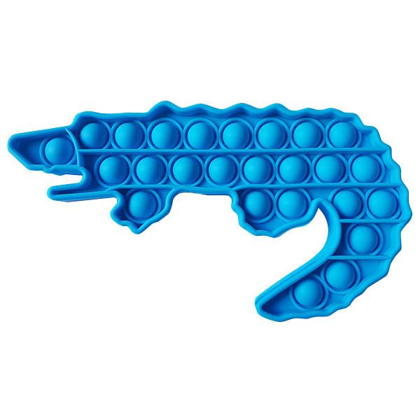 Опт Pop It Антистрес Іграшка - (Поп Іт - Попит - Popit) - Синій Крокодил