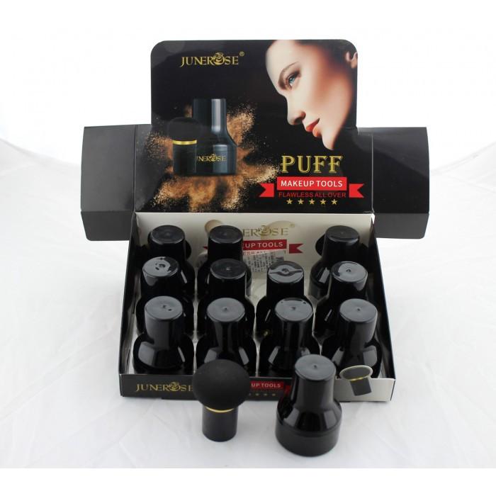 Косметический Спонж  Makeup tools B602 с ручкой и футляром