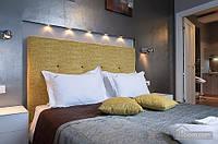Квартира со стеклянной стеной в ванной на Крещатике, 2х-комнатная (35439)