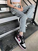 Кросівки жіночі модні з різнокольоровими вставками. Жіночі стильні кросівки триколірні., фото 1