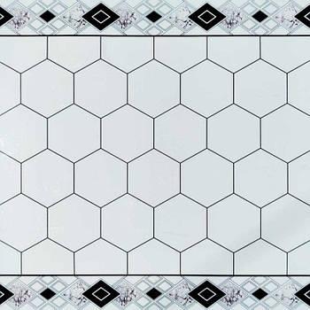 Самоклеящаяся виниловая плитка 600*600*1,5мм (СВП-211-глянец)