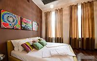 Яркая стильная квартира на площади Льва Толстого, 2х-комнатная (61627)